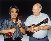Herb Ohta and Lyle Ritz