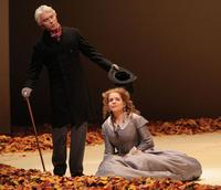 Dmitri Hvorostovsky as Onegin and Renee Fleming as Tatiana in Eugene Onegin at the Met
