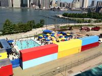 Pop Up Pool Opens In Brooklyn Bridge Park Wnyc
