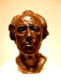 Auguste Rodin's bust of Gustav Mahler
