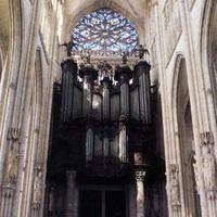 1890 Cavaillé-Coll organ at the Church of Saint Ouen in Rouen, France