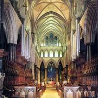1876 Willis organ at Salisbury Cathedral, England, UK