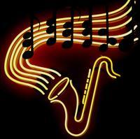 jazz neon saxophone