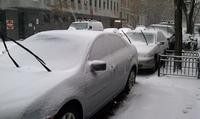 Cars parked on West 82nd Street, Manhattan