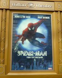 Spider-Man broadway poster