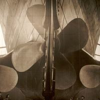 Photo of the Titanic's Propellers