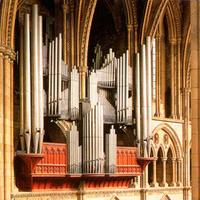 1887 Willis organ at Truro Cathedral, England, UK