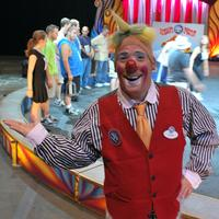 Thom Wheaton, a 14-year veteran clown for Ringling Brothers and Barnum and Bailey