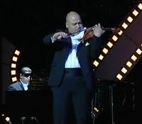 Sándor Fehér, a violinist who died on the Costa Concordia