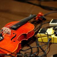 Amplified Violin