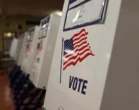 voting booths, polling stations, election, vote