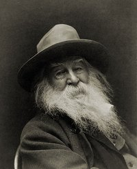 The Brooklyn poet Walt Whitman