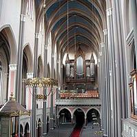 1982 Oberlinger organ at the Marktkirche [Market Church], Wiesbaden, Germany