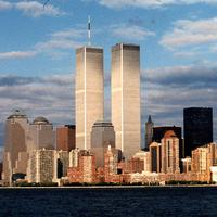 The World Trade Center before September 11, 2001.