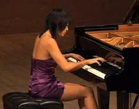 Pianist Yuja Wang at the 2010 Santa Fe Chamber Music Festival