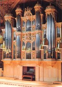 1988 Kleuker-Steinmeyer organ at the Tonhalle in Zürich, Switzerland