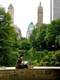 Central Park reader