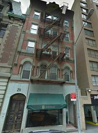 The building at 232 W. 58th Street, formerly home to Klavierhaus