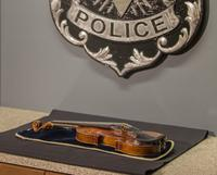 The 300-year-old Stradivarius violin that was taken from the Milwaukee Symphony Orchestra's concertmaster in an armed robbery.