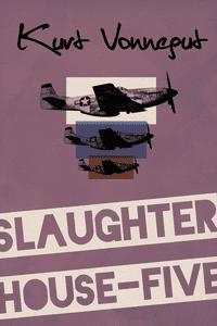 Original book cover design for Kurt Vonnegut's Slaughterhouse Five by Tom McQuaid