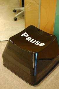 Giant Pause Button