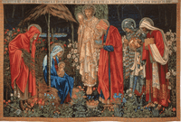 Designed by Edward Burne Jones with details by William Morris and John Henry Dearle; Designed 1888, woven 1894