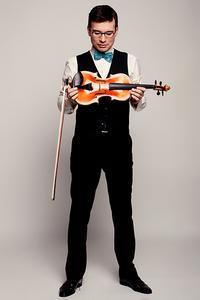 Violinist Alexandru Tomescu.