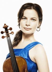 Violinist Bella Hristova.