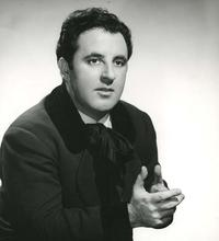 Carlo Bergonzi as Rodolfo in 'La Boheme' in 1957