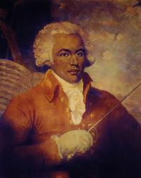Chevalier de Saint-Georges (1745-1799) was one of the earliest musicians of African ancestry in European classical music.