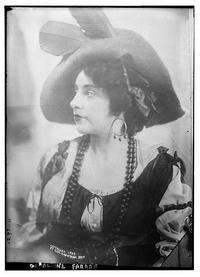 American Soprano Geraldine Farrar as Nedda in Pagliacci