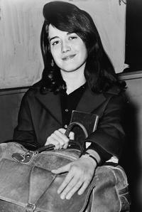 Martha Argerich at New York City's Pier 86 in 1962.