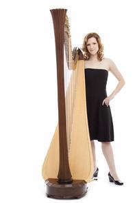 Valérie Milot, harpist