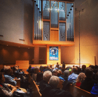 The Bachstock pipe organ marathon at on the 1977 Klais at St. Peter's Lutheran Church in Manhattan.