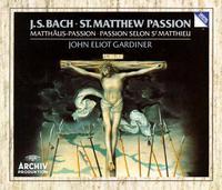 Bach: St Matthew Passion / Gardiner, Rolfe Johnson, Et Al