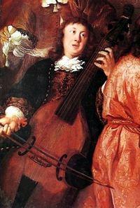 The only surviving portrait of Dieterich Buxtehude.