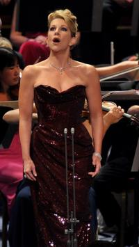 mezzo-soprano Joyce DiDonato at the Last Night of the Proms
