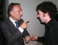 Gustavo Dudamel and Claudio Abbado in an undated photo