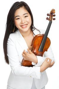 Violinist Kristin Lee.