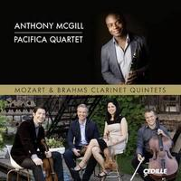 Mozart, Brahms: Clarinet Quintets / Anthony McGill, Pacifica Quartet