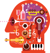 Music on the brain.