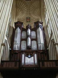 1997 Klais organ at the Abbey, Bath, England, UK