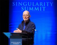 Vernor Vinge speaking at the Singularity Summit 2012