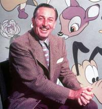Walt Disney, in an undated publicity photo