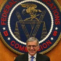 FCC chairman making announcement (Mark Wilson/Getty Images)