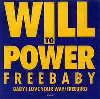 Cover to WIll To Power.