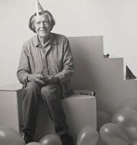John Cage photo by Steven Speliotis