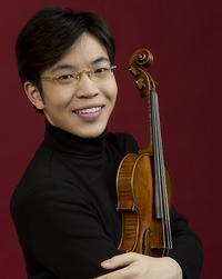 Violinist Paul Huang.