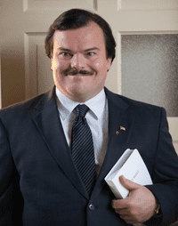 Jack Black as Bernie Tiede in Bernie