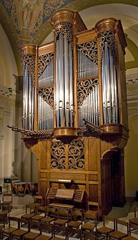 1987 Gabriel Kney organ at the University of Saint Thomas, Saint Paul, MN